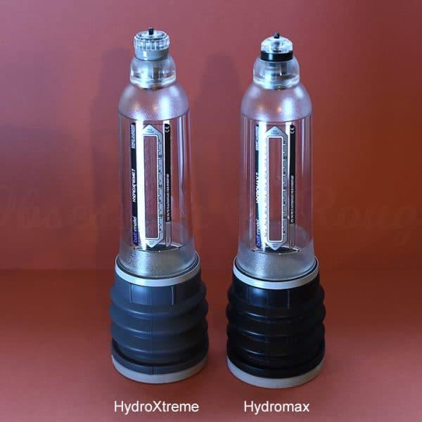 Bathmate Hydromax vs HydroXtreme