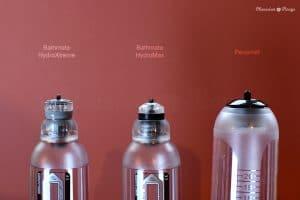 Bathmate Hydromax vs HydroXtreme vs Penomet valves