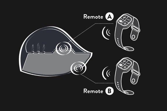 Pulse Duo Lux remotes